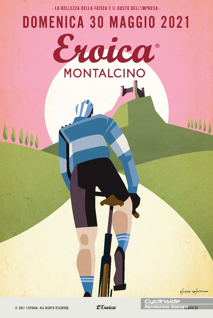 Poster Eroica Montalcino 2021